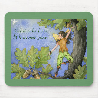 Acorn Fairy mousepad