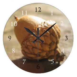 Acorn Large Clock