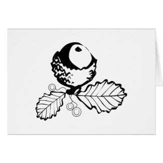 Acorn & Leaves Greeting Card
