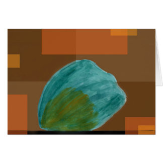 Acorn Squash Blank Greeting Card