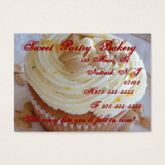 Acorn squash cupcake business card