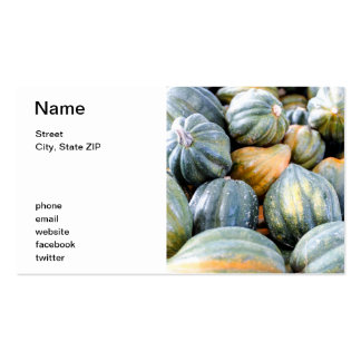 Acorn Squash Pack Of Standard Business Cards