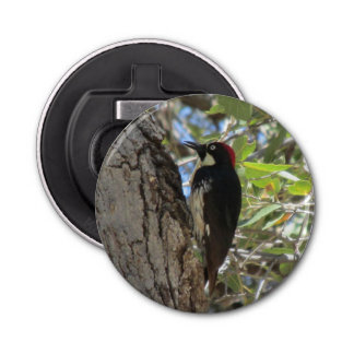 Acorn Woodpecker Bottle Opener