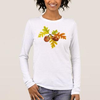 Acorns and Leaves Long Sleeve T-Shirt