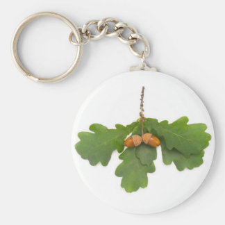 Acorns Key Ring