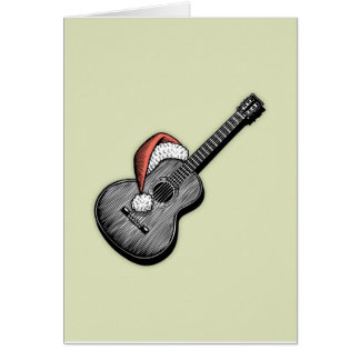Acoustic Claus Card