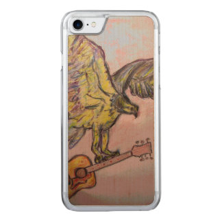 Acoustic Fish Hawk Carved iPhone 8/7 Case