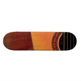 Acoustic Guitar 21.3 Cm Mini Skateboard Deck