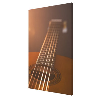Acoustic Guitar 3 Gallery Wrap Canvas