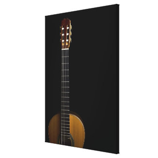 Acoustic Guitar 4 Gallery Wrapped Canvas