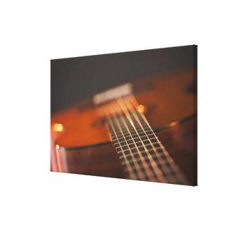 Acoustic Guitar 5 Canvas Print