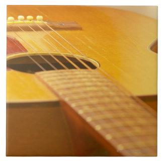 Acoustic Guitar 5 Large Square Tile