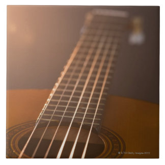 Acoustic Guitar 7 Large Square Tile