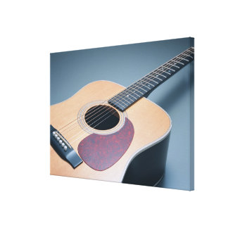 Acoustic Guitar 7 Stretched Canvas Prints