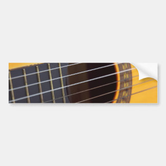 Acoustic Guitar Background Bumper Stickers