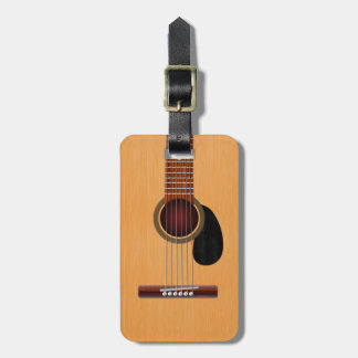 Acoustic Guitar Bag Tag