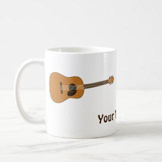 Acoustic Guitar Basic White Mug