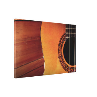Acoustic Guitar Gallery Wrap Canvas