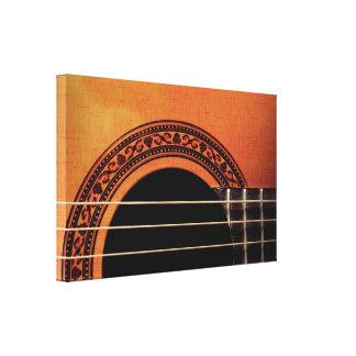 Acoustic Guitar Gallery Wrap Canvas