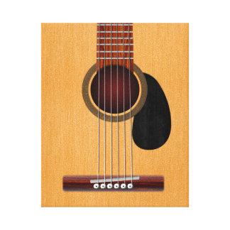 Acoustic Guitar Canvas Prints