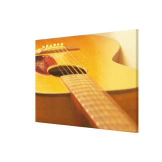 Acoustic Guitar Stretched Canvas Prints