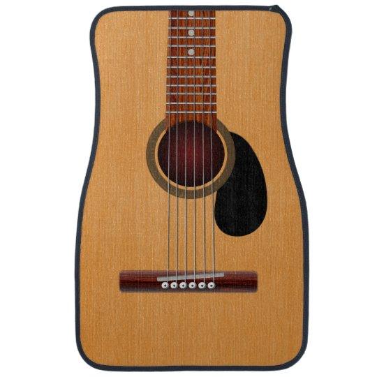 Acoustic Guitar Car Mat