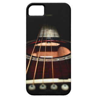Acoustic Guitar Close-Up iPhone5 Case-Mate Barely