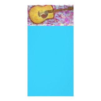 Acoustic Guitar Colours Photo Cards