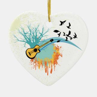 Acoustic guitar custom ornaments
