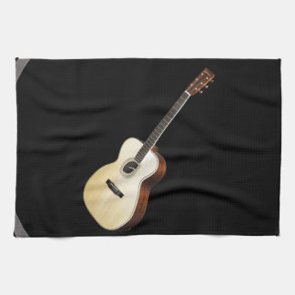 """""""Acoustic Guitar"""" design gifts and products Tea Towel"""