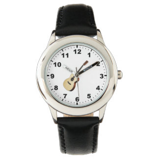 """Acoustic guitar"" design wrist watches"