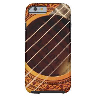 Acoustic Guitar Detail Tough iPhone 6 Case