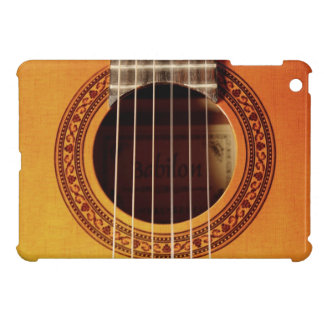 Acoustic Guitar Detail iPad Mini Case