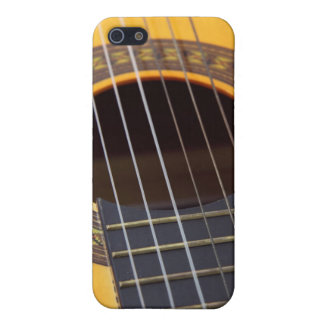 Acoustic Guitar Detail iPhone 5/5S Covers