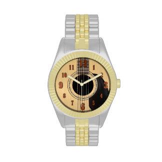 Acoustic Guitar Wrist Watch