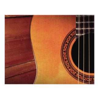 Acoustic Guitar Full Color Flyer