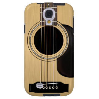 Acoustic Guitar Galaxy S4 Case