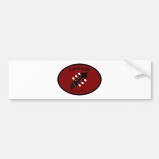 ACOUSTIC GUITAR HEADSTOCK-LOVE TO BE ME BUMPER STICKER