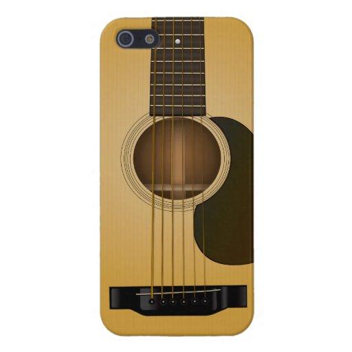 Acoustic Guitar iPhone 5/5S case