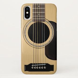 Acoustic Guitar iPhone X Case