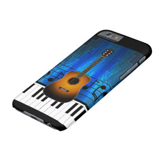 Acoustic Guitar Keyboard Band Barely There iPhone 6 Case