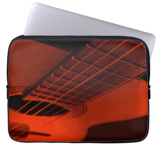 Acoustic guitar. laptop sleeve