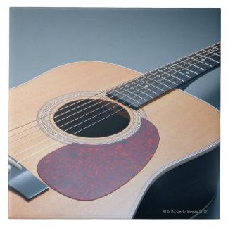 Acoustic Guitar Large Square Tile