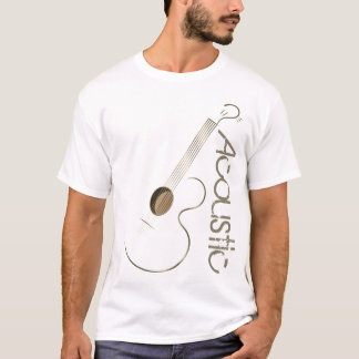 Acoustic Guitar Logo T Shirts