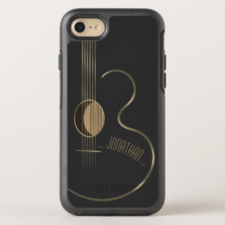 Acoustic Guitar Musician OtterBox Symmetry iPhone 8/7 Case