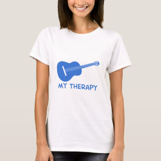 Acoustic Guitar my therapy T-Shirt