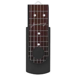 Acoustic Guitar Neck Music USB Flash Drive