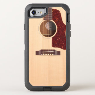 Acoustic guitar OtterBox defender iPhone 7 case