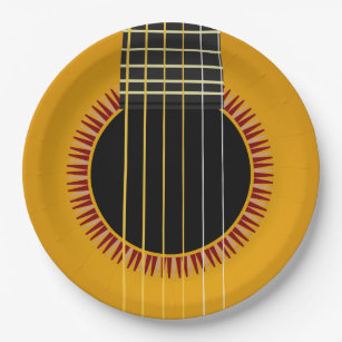 Astounding Paper Plate Guitar Contemporary - Best Image Engine ...