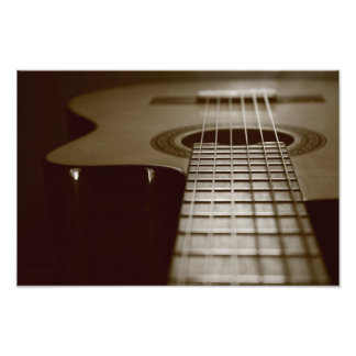 Acoustic Guitar Photo Print